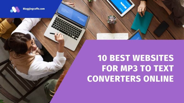 MP3 to Text Converters