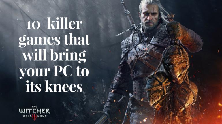 10 killer games PC