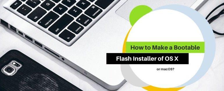 Make a Bootable Flash Installer