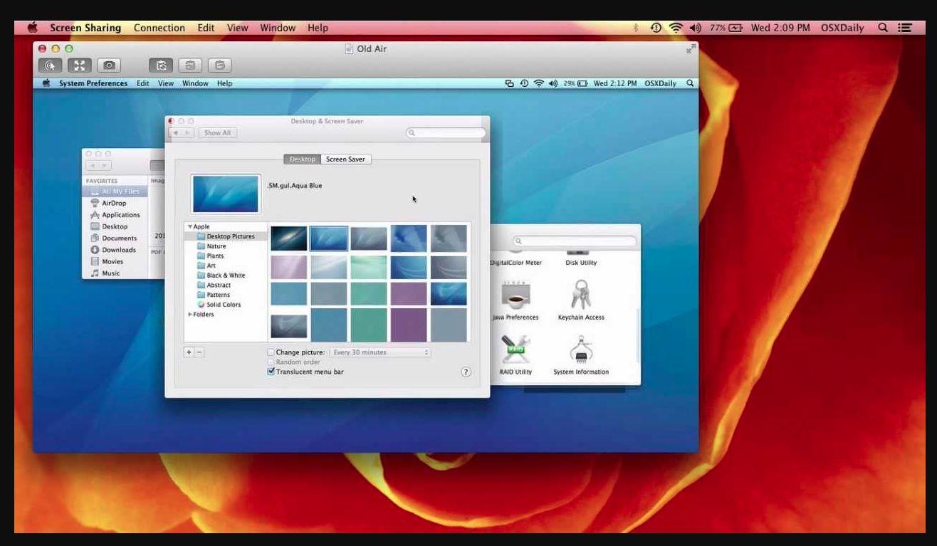 Screen Sharing on Mac