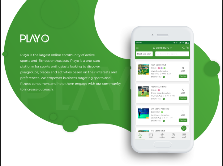 PlaYo App For IPHONE