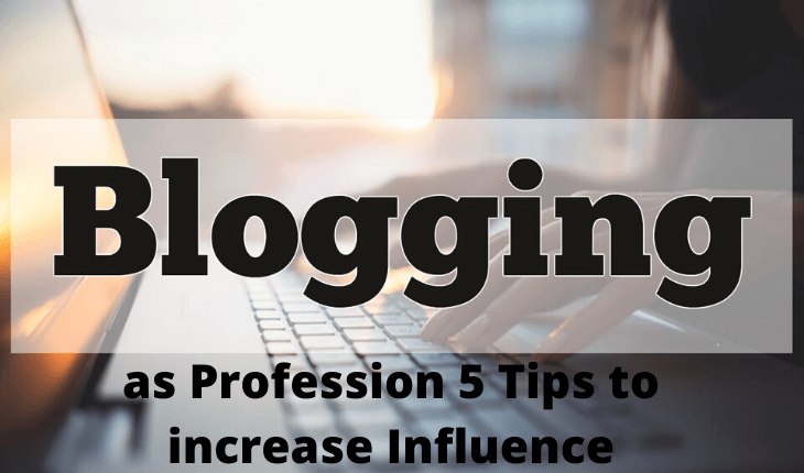 as Profession 5 Tips to increase Influence (1)