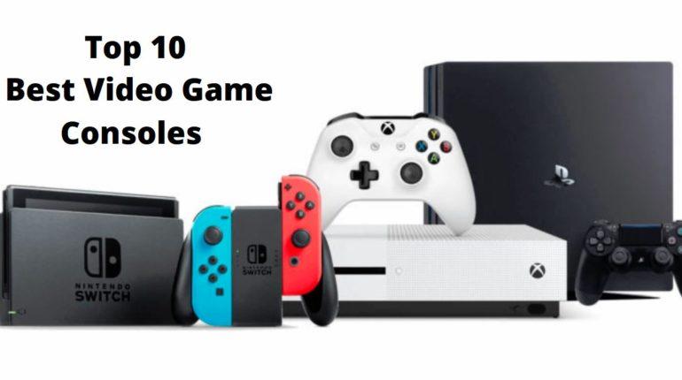 top 10 video games consol